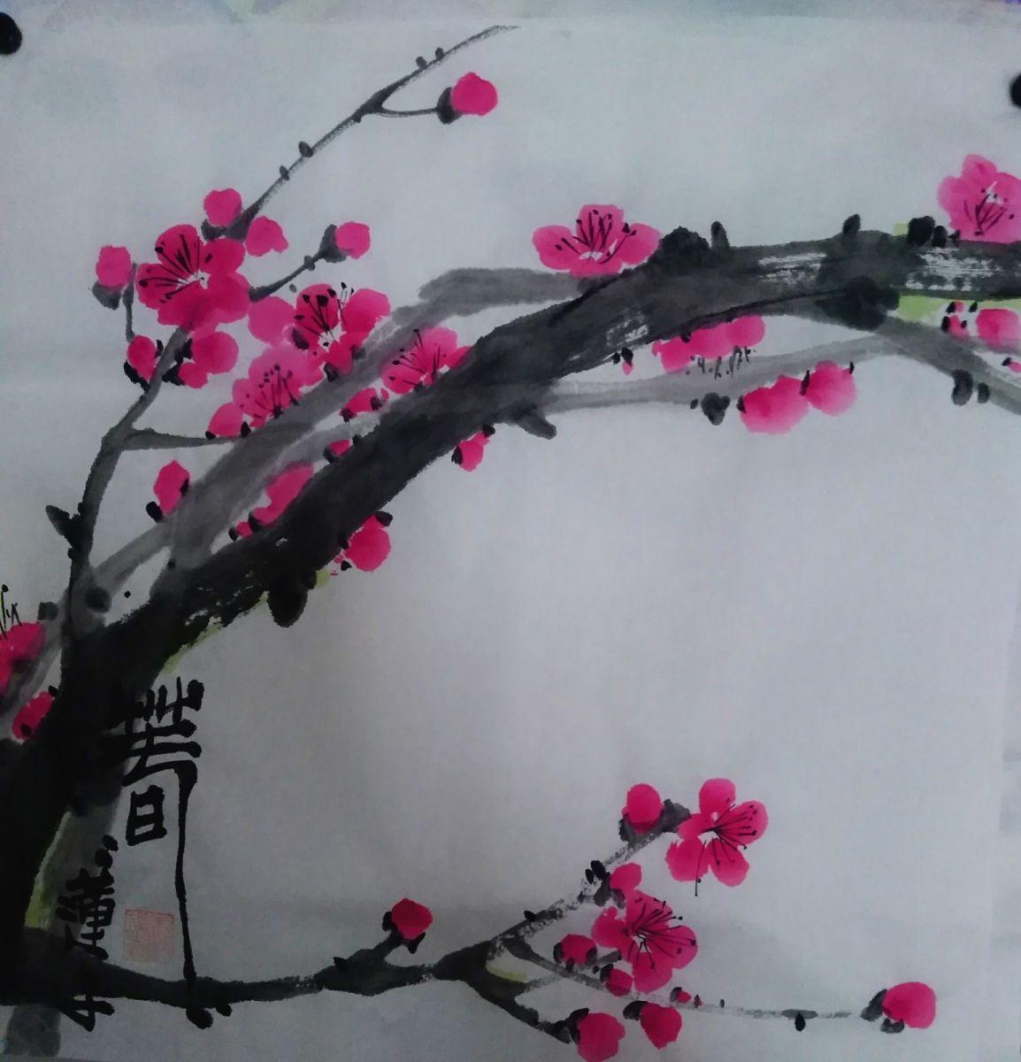 中国浪漫主义意象画派创始人张炳瑞香新作品《春》系列_图1-1