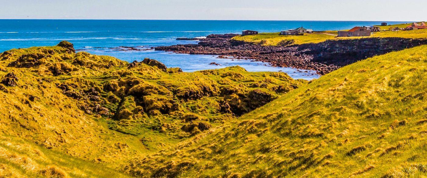 冰岛Arnarstapi,海边美景_图1-1