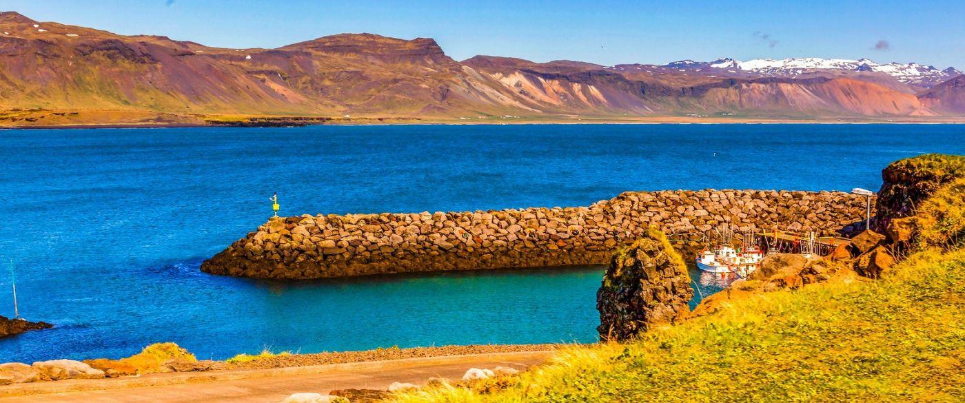 冰岛Arnarstapi,海边美景_图1-2