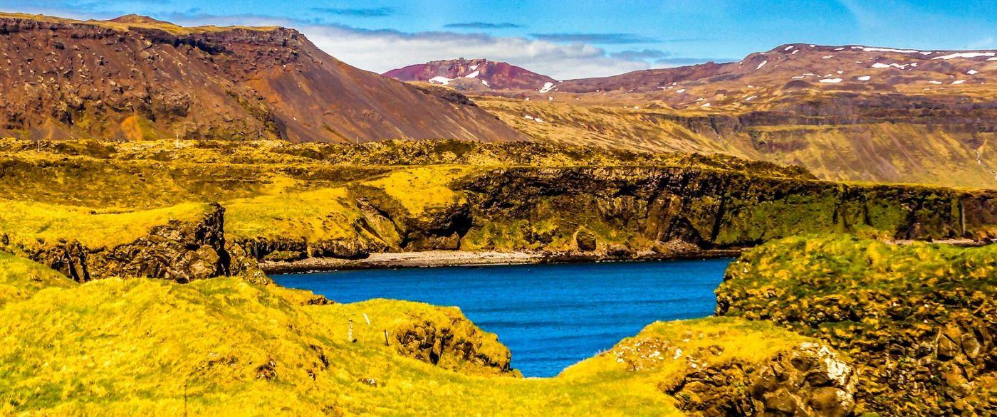 冰岛Arnarstapi,海边美景_图1-8