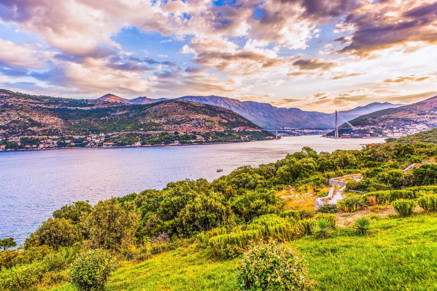 克罗地亚杜布罗夫尼克(Dubrovnik),远眺古城_图1-10