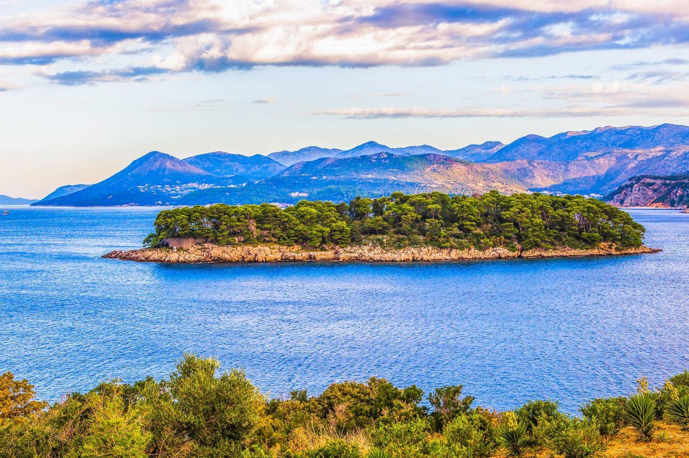克罗地亚杜布罗夫尼克(Dubrovnik),远眺古城_图1-17