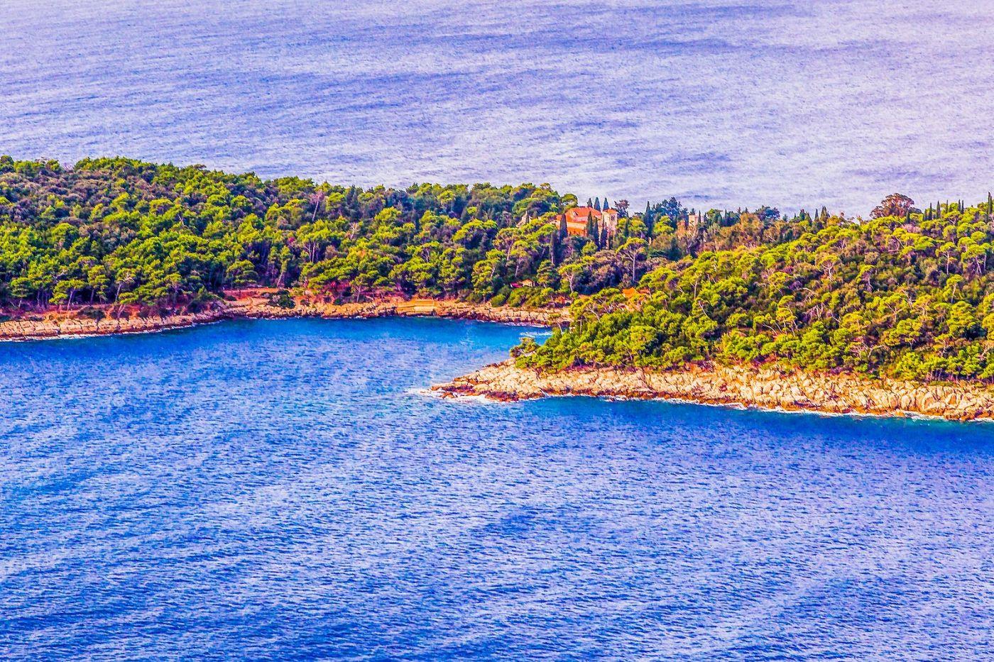 克罗地亚杜布罗夫尼克(Dubrovnik),远眺古城_图1-4