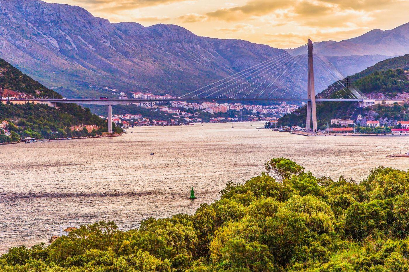 克罗地亚杜布罗夫尼克(Dubrovnik),远眺古城_图1-30
