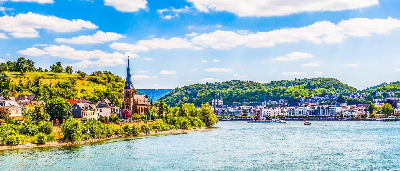 畅游莱茵河,岸上的景_图1-35