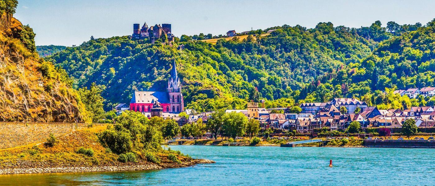 畅游莱茵河,岸上的景_图1-32