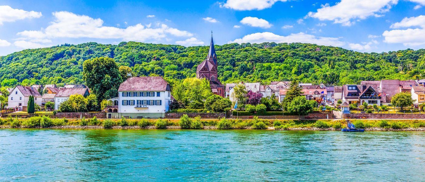 畅游莱茵河,岸上的景_图1-26