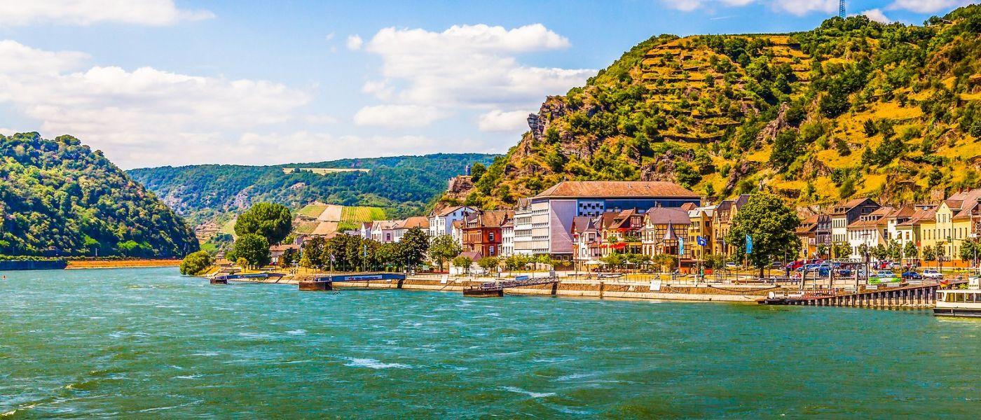 畅游莱茵河,岸上的景_图1-24