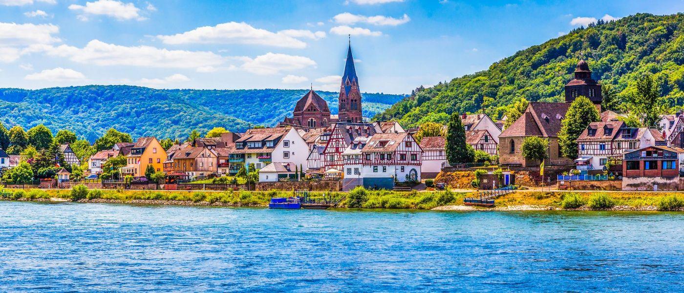 畅游莱茵河,岸上的景_图1-23