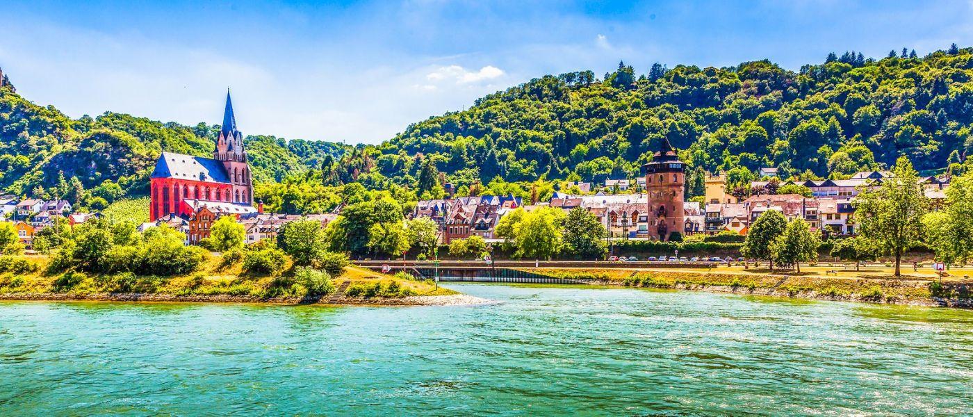 畅游莱茵河,岸上的景_图1-18