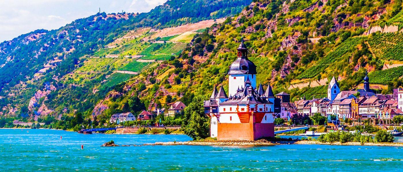 畅游莱茵河,岸上的景_图1-19