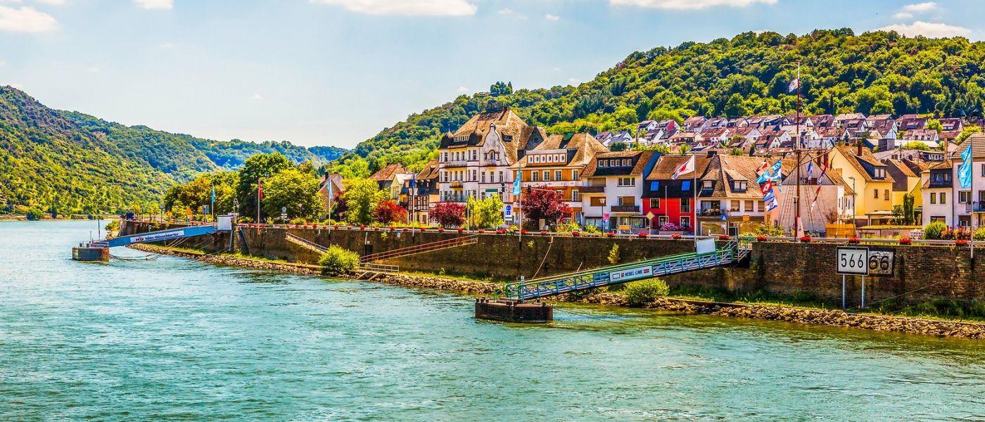 畅游莱茵河,岸上的景_图1-16