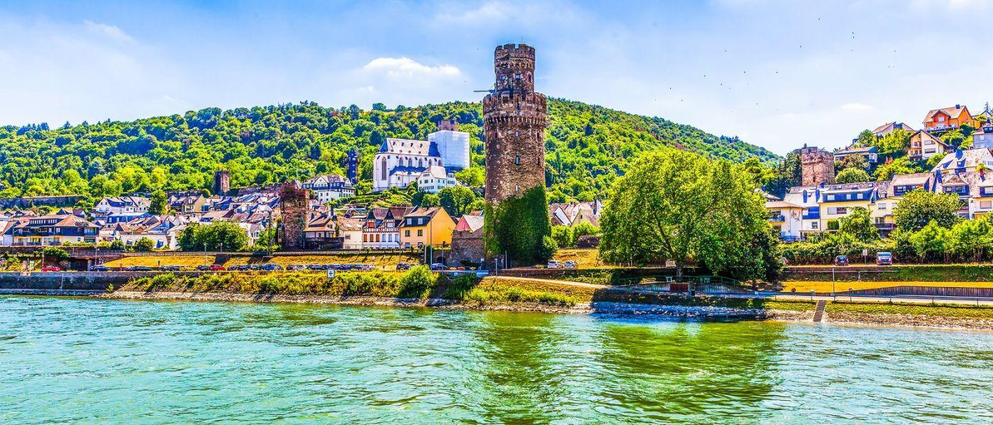 畅游莱茵河,岸上的景_图1-1