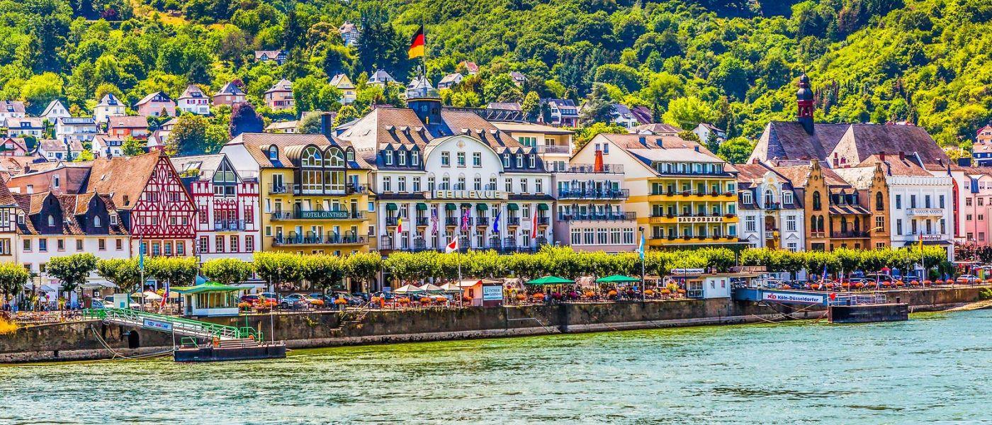 畅游莱茵河,岸上的景_图1-8