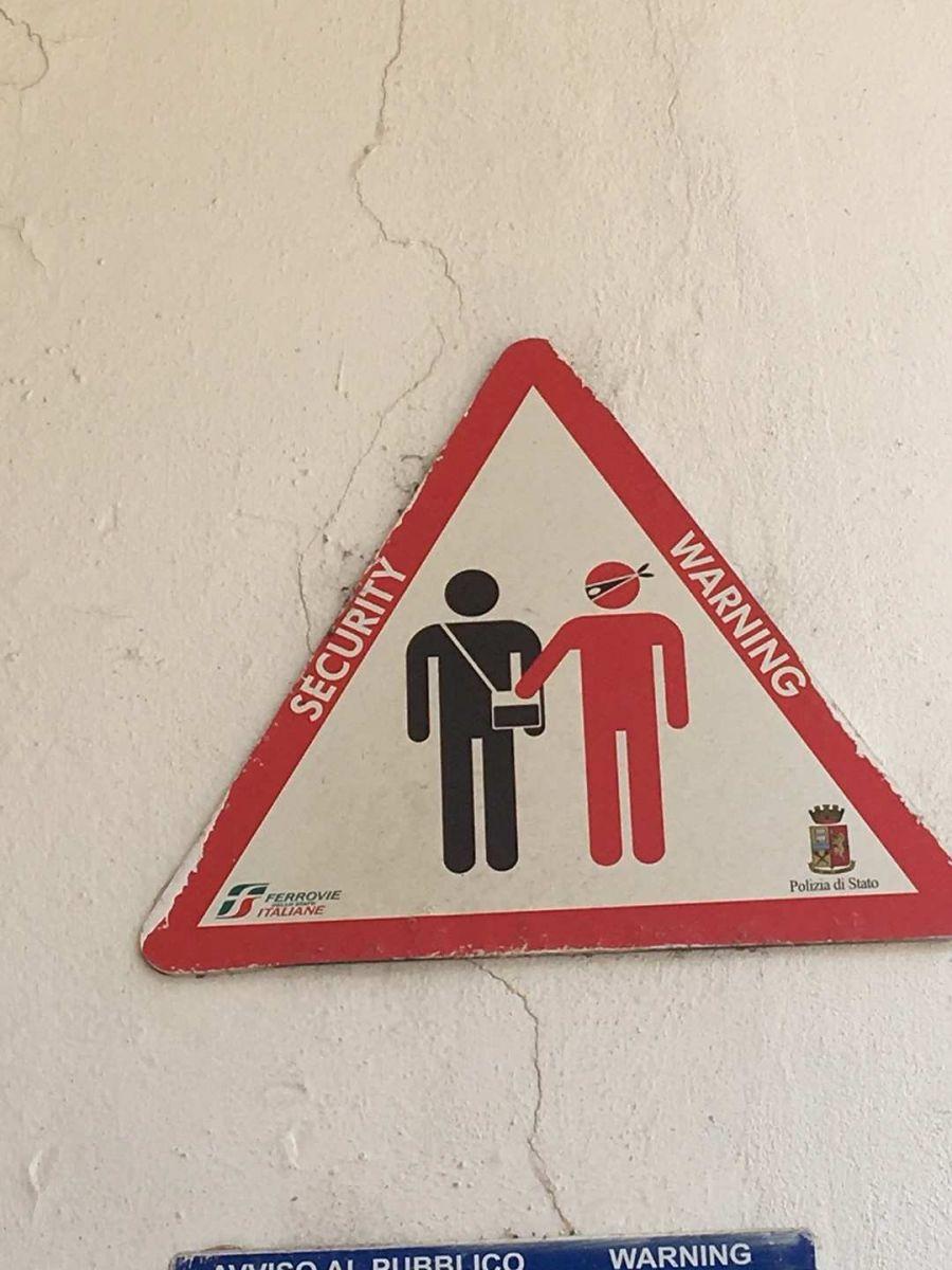 意大利: 坐错火车,遭遇小偷_图1-16
