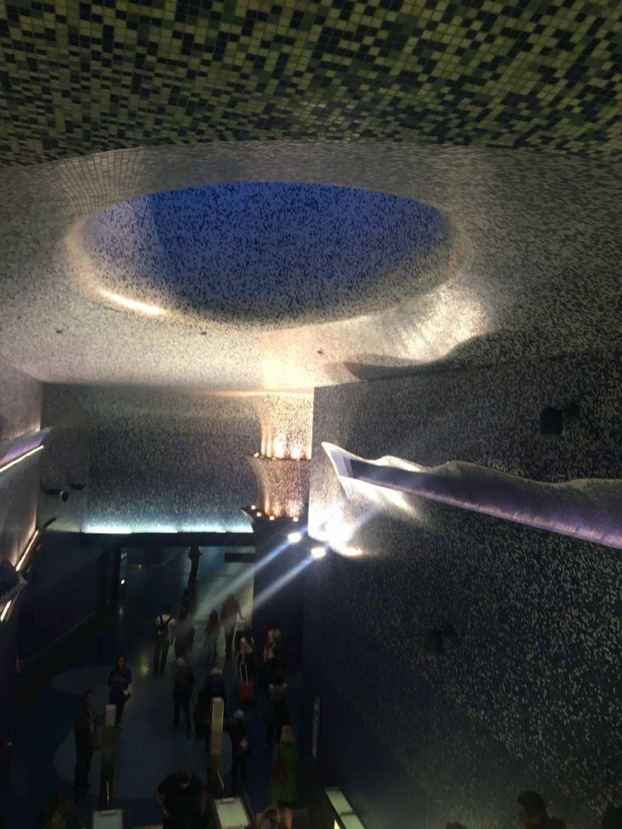那不勒斯旅游亮点:Toledo地铁站_图1-19