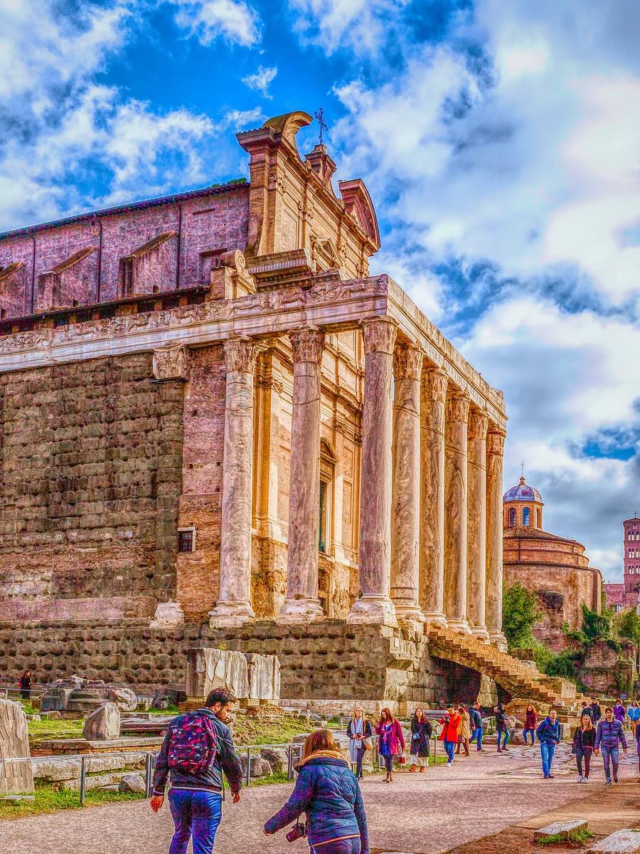 意大利罗马论坛,意义深远_图1-12
