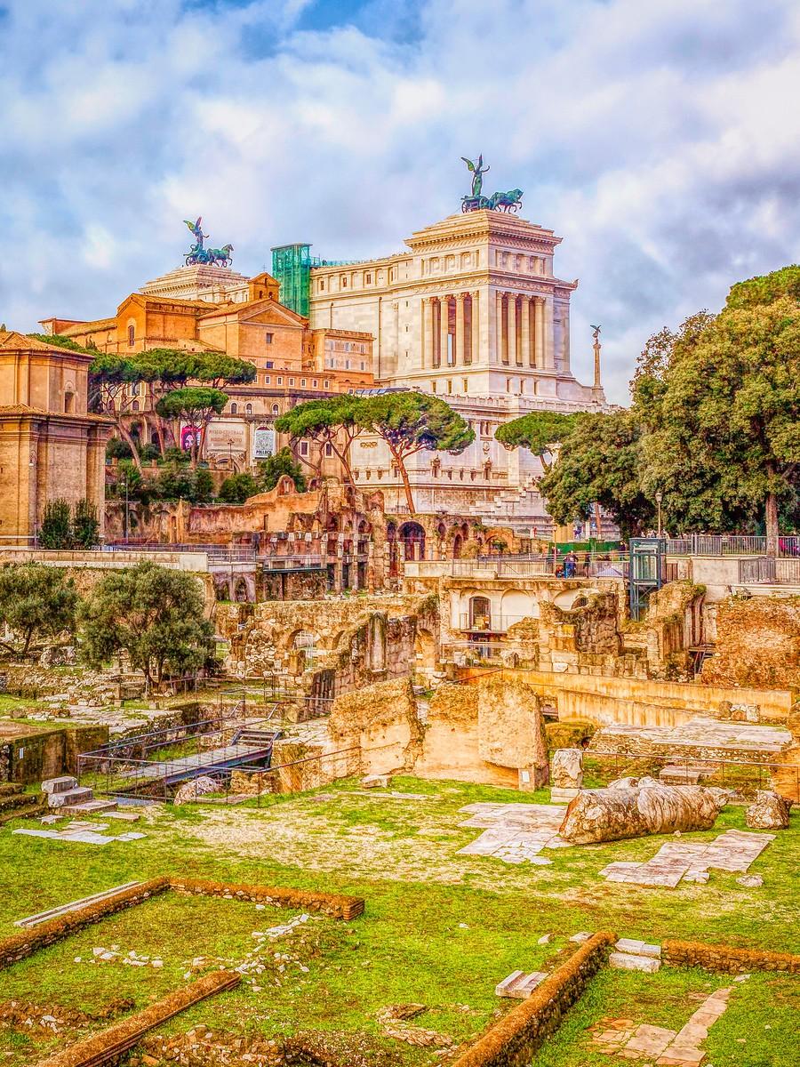 意大利罗马论坛,意义深远_图1-7