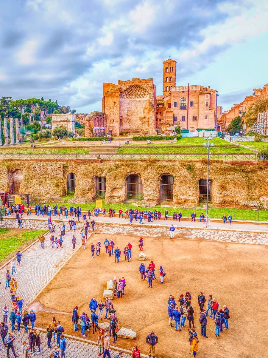 意大利罗马论坛,意义深远_图1-4