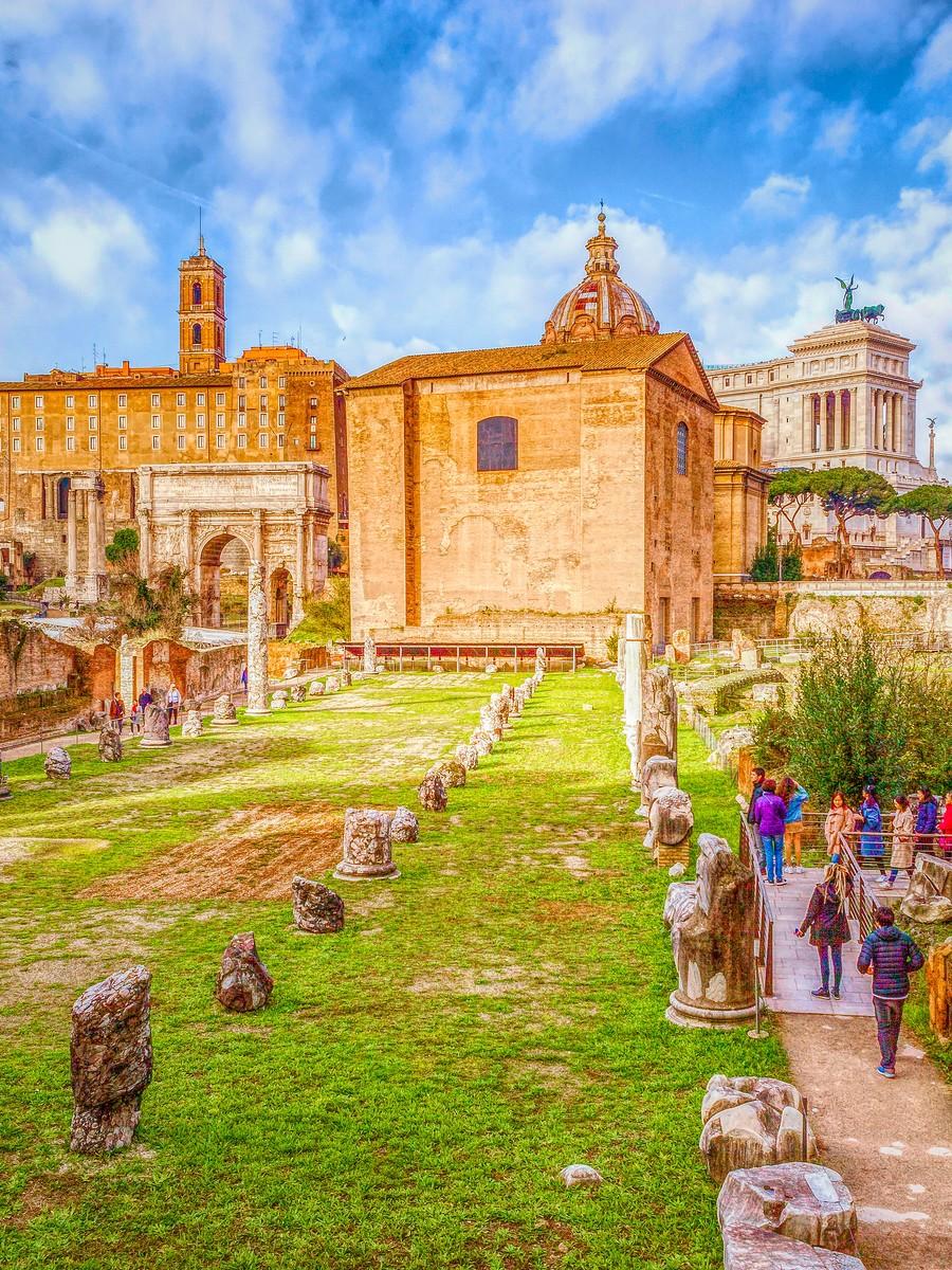 意大利罗马论坛,意义深远_图1-1