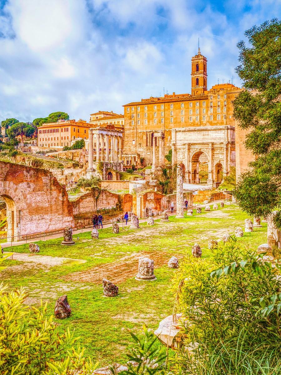 意大利罗马论坛,意义深远_图1-34