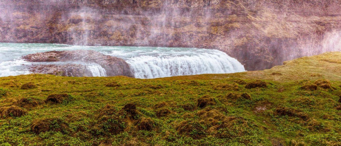 冰岛古佛斯瀑布(Gullfoss),景色壮观_图1-17