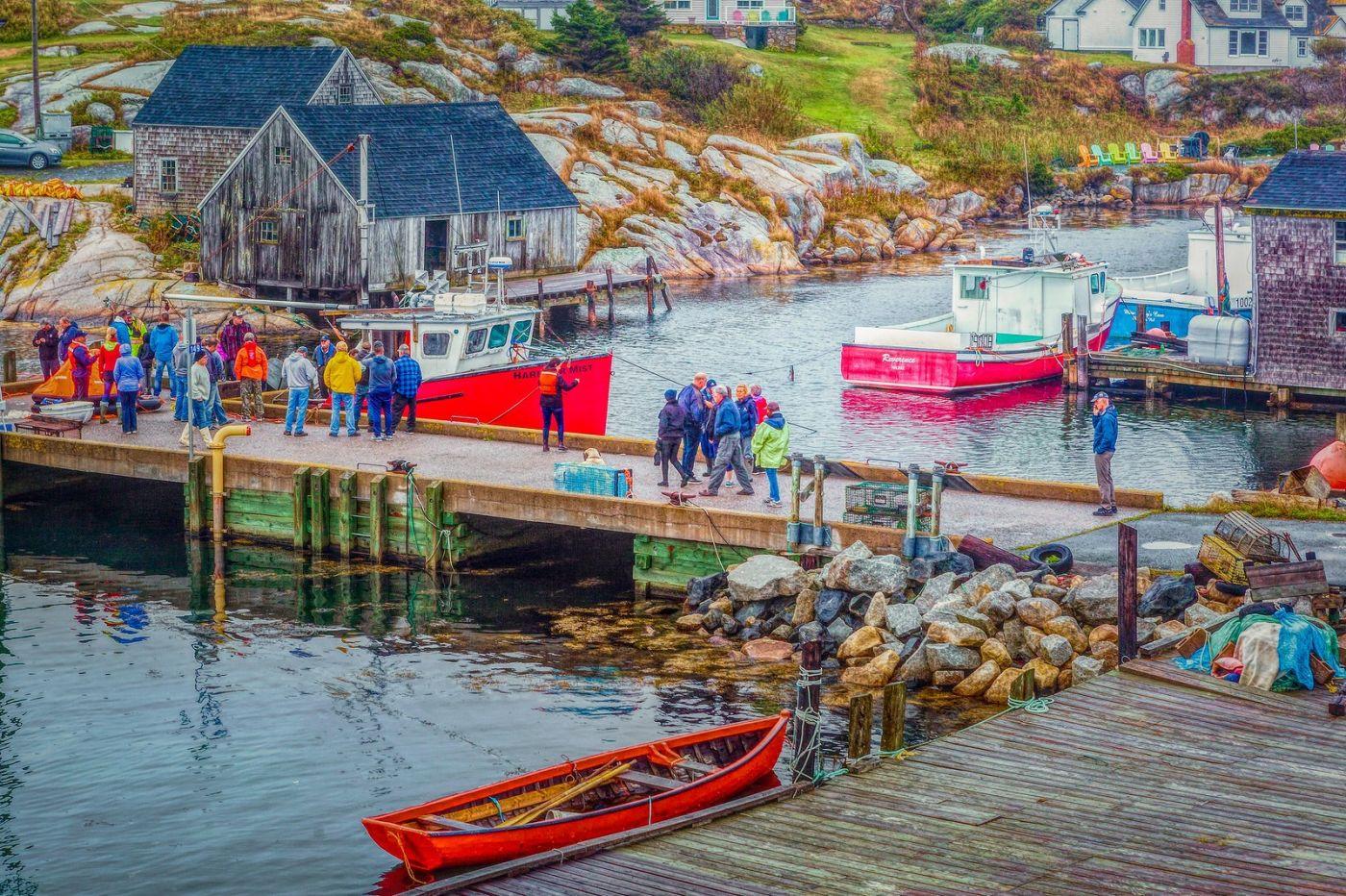 加拿大佩吉海湾(Peggys Cove),渔村生活_图1-40