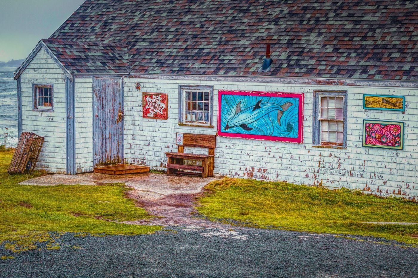 加拿大佩吉海湾(Peggys Cove),渔村生活_图1-38