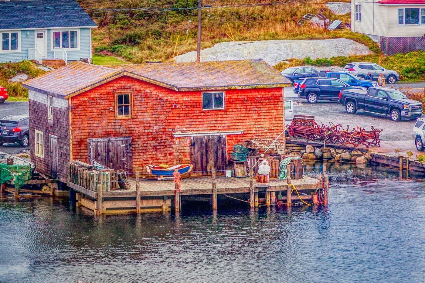 加拿大佩吉海湾(Peggys Cove),渔村生活_图1-39