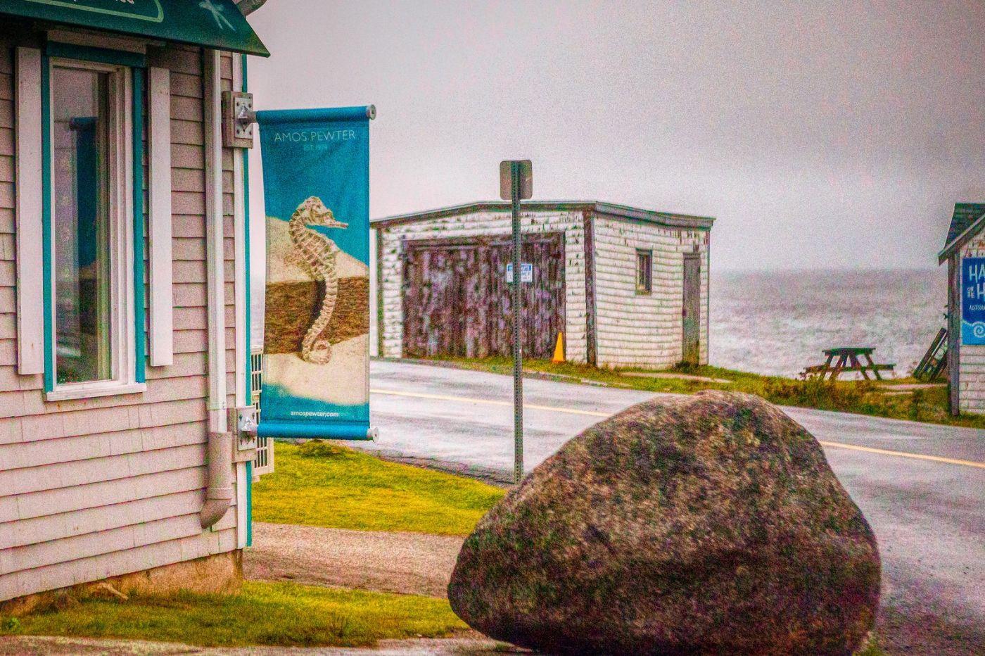 加拿大佩吉海湾(Peggys Cove),渔村生活_图1-37