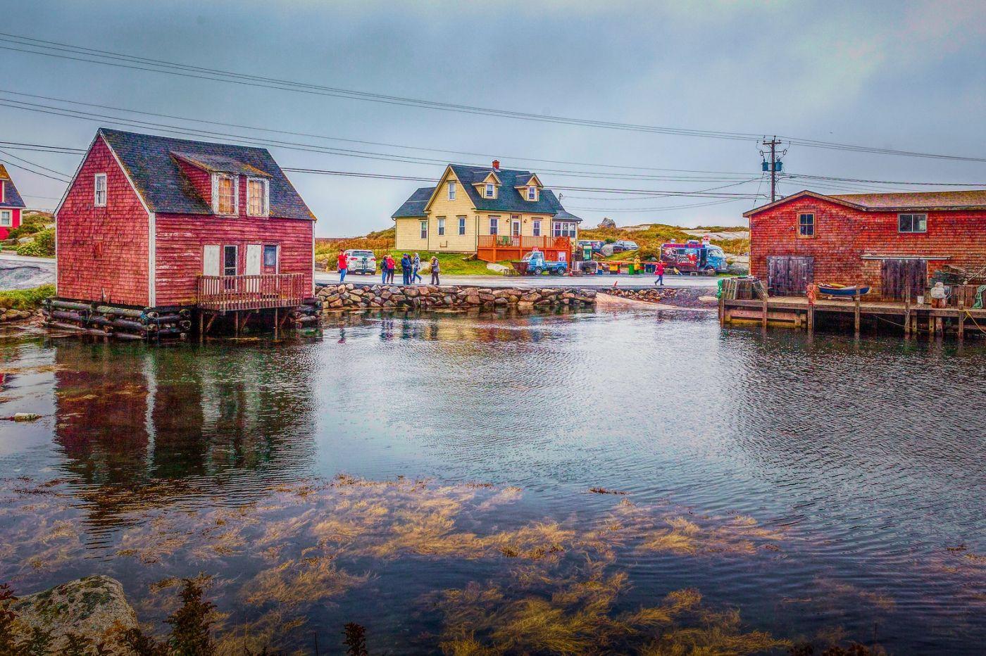 加拿大佩吉海湾(Peggys Cove),渔村生活_图1-33
