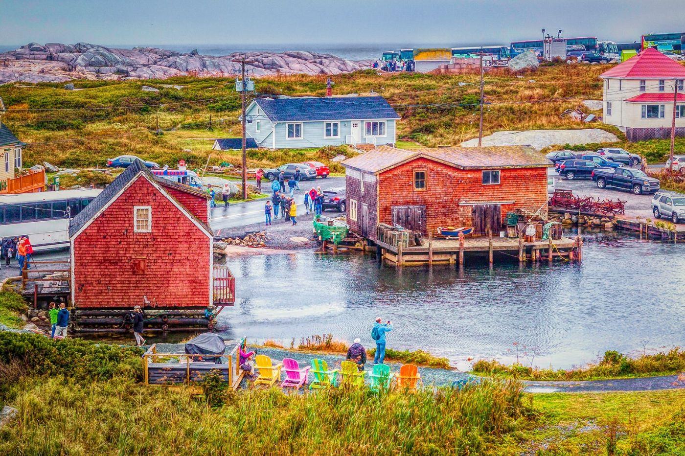 加拿大佩吉海湾(Peggys Cove),渔村生活_图1-34