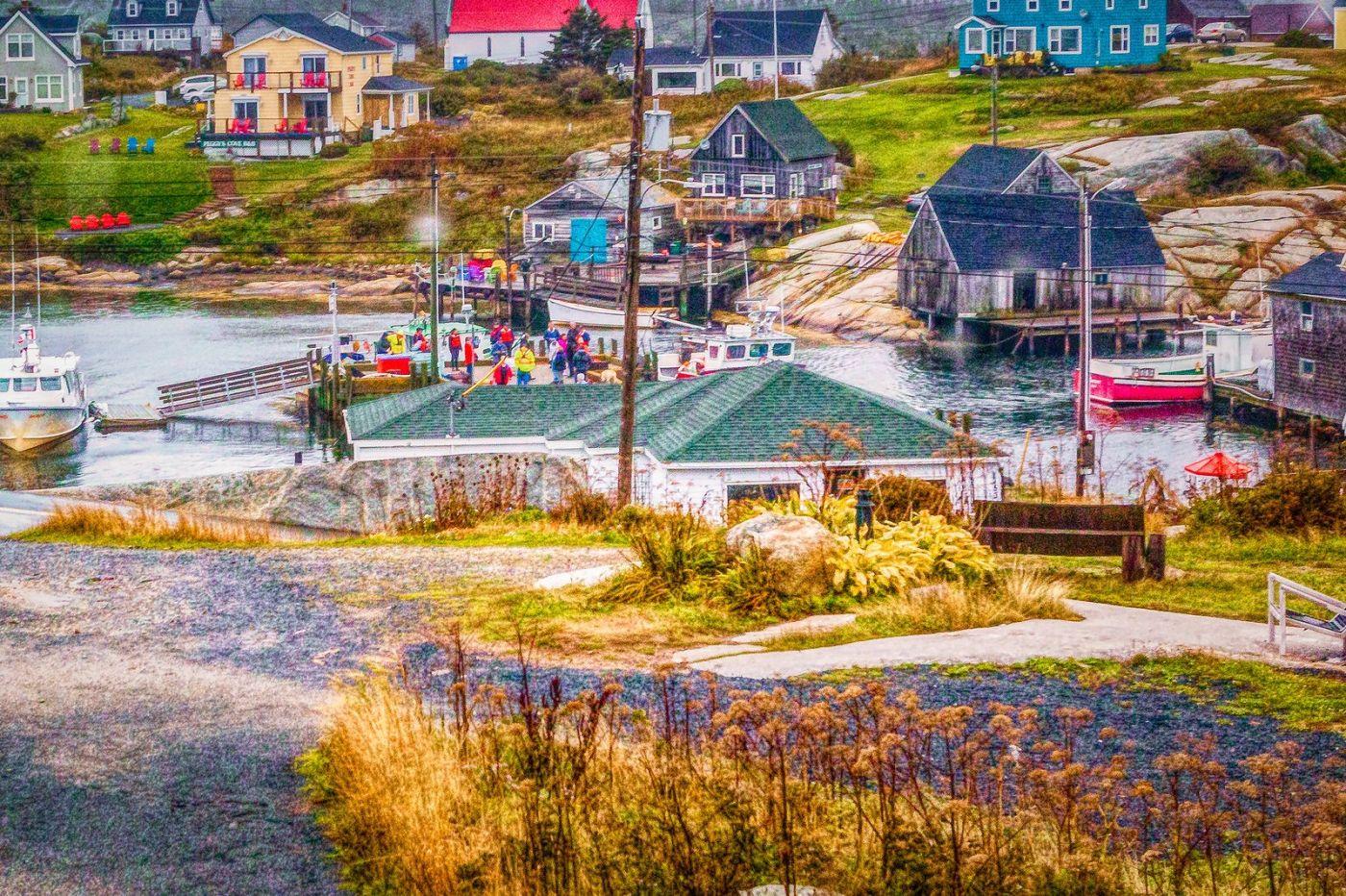 加拿大佩吉海湾(Peggys Cove),渔村生活_图1-35