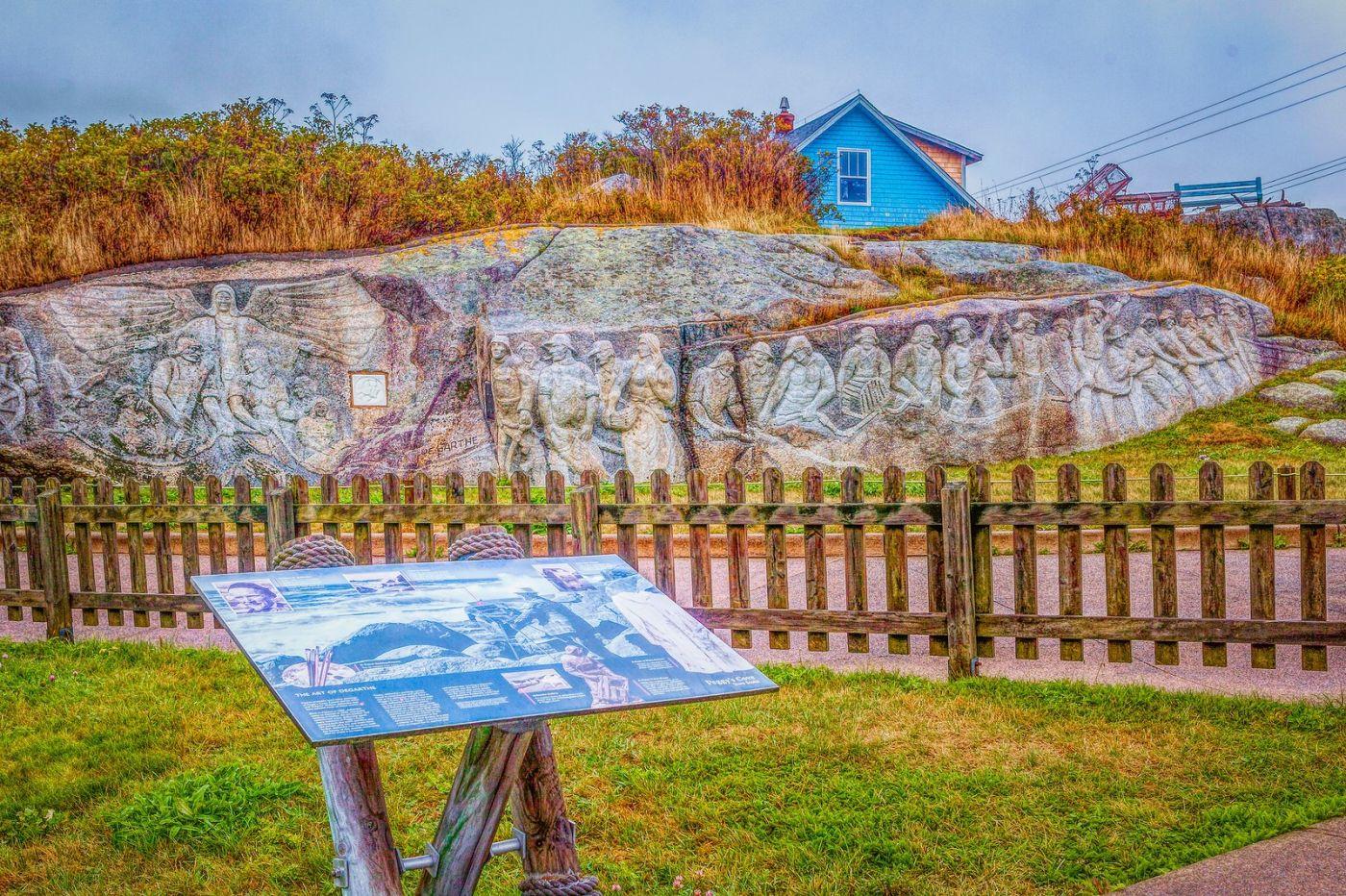 加拿大佩吉海湾(Peggys Cove),渔村生活_图1-36