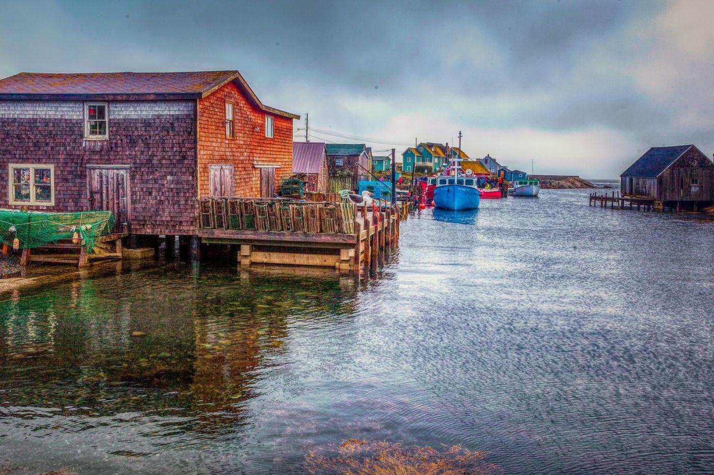 加拿大佩吉海湾(Peggys Cove),渔村生活_图1-30