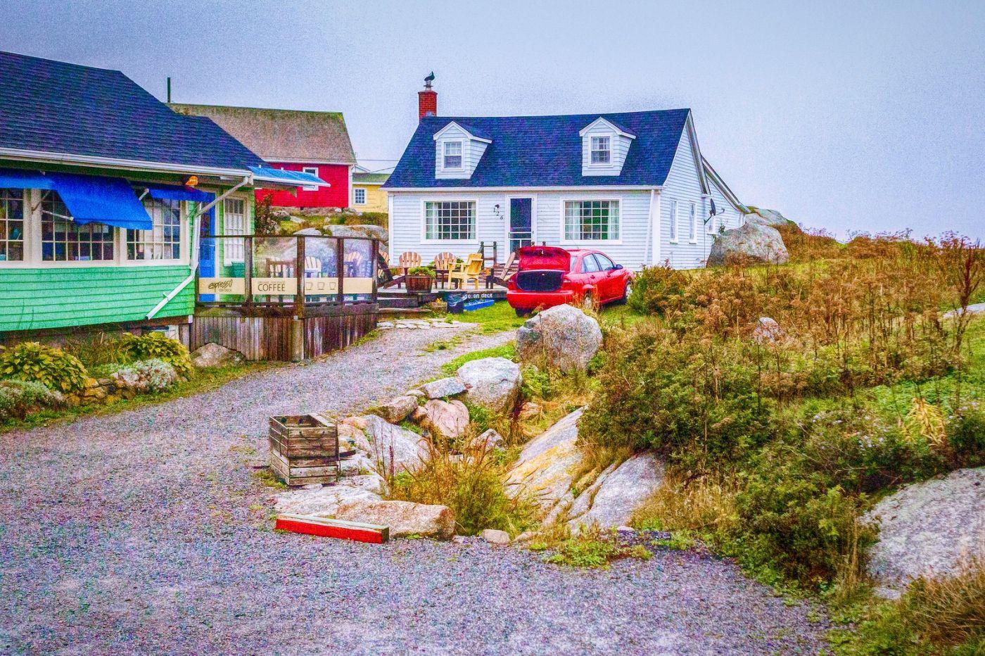 加拿大佩吉海湾(Peggys Cove),渔村生活_图1-26