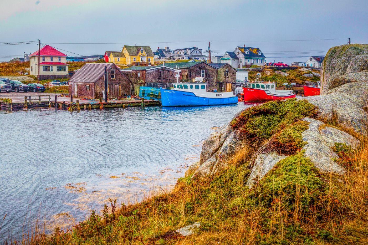 加拿大佩吉海湾(Peggys Cove),渔村生活_图1-27