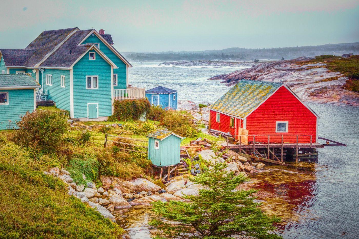 加拿大佩吉海湾(Peggys Cove),渔村生活_图1-24