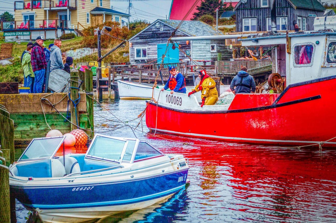 加拿大佩吉海湾(Peggys Cove),渔村生活_图1-23