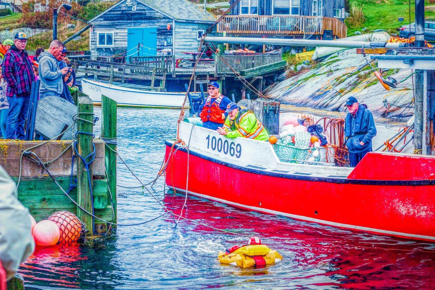 加拿大佩吉海湾(Peggys Cove),渔村生活_图1-22