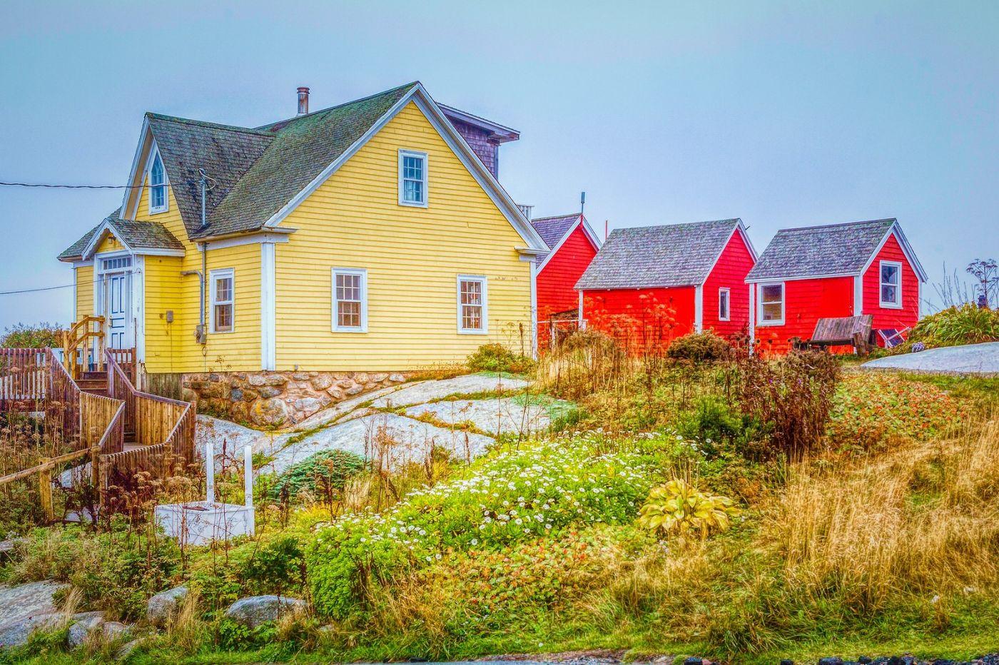 加拿大佩吉海湾(Peggys Cove),渔村生活_图1-17