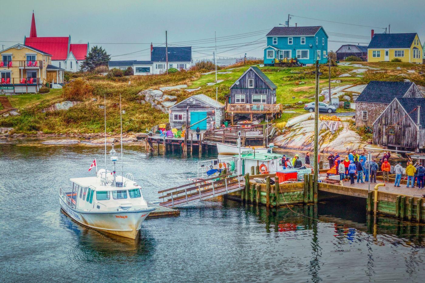 加拿大佩吉海湾(Peggys Cove),渔村生活_图1-18