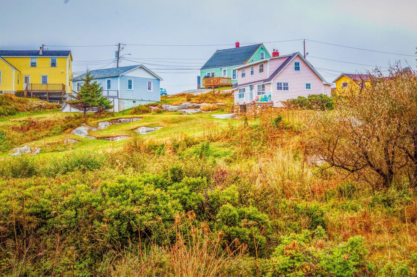 加拿大佩吉海湾(Peggys Cove),渔村生活_图1-20
