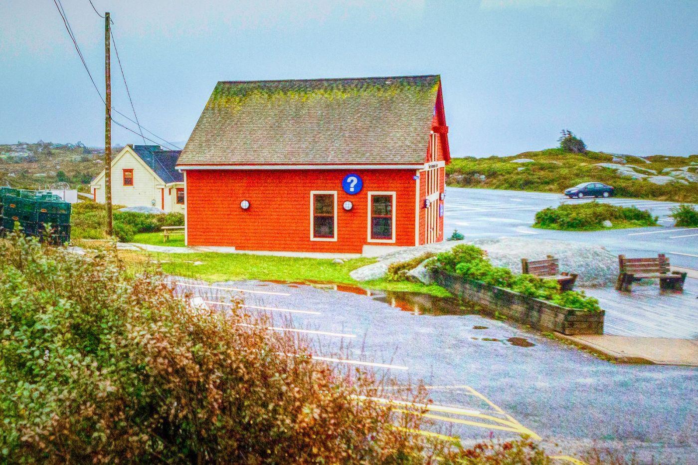 加拿大佩吉海湾(Peggys Cove),渔村生活_图1-16