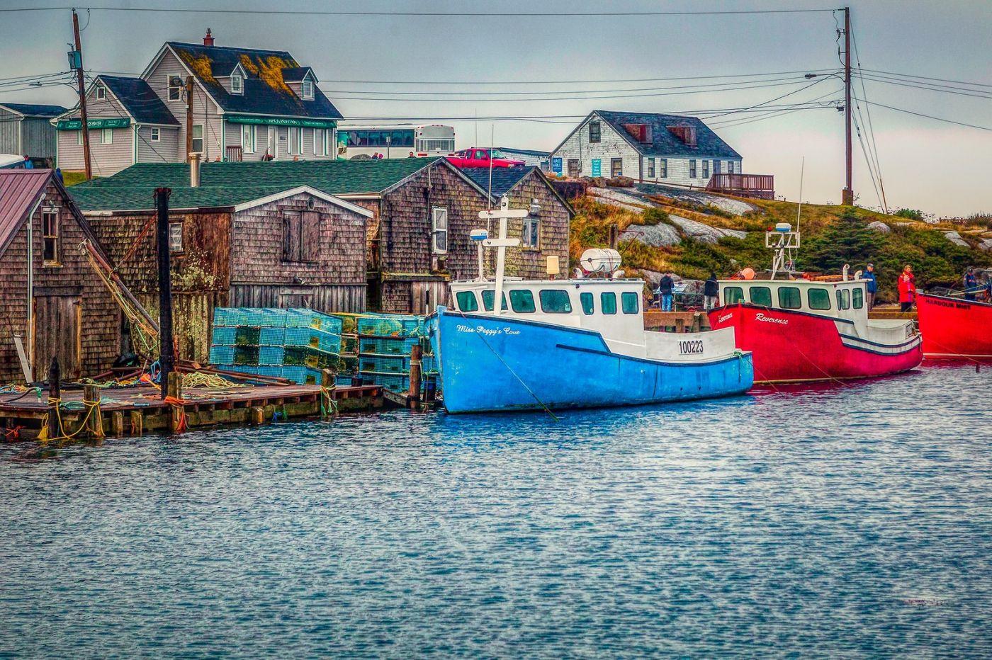 加拿大佩吉海湾(Peggys Cove),渔村生活_图1-19