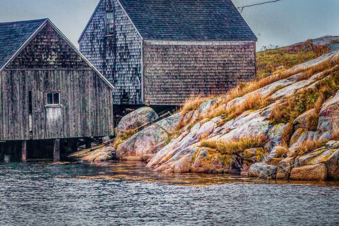 加拿大佩吉海湾(Peggys Cove),渔村生活_图1-14