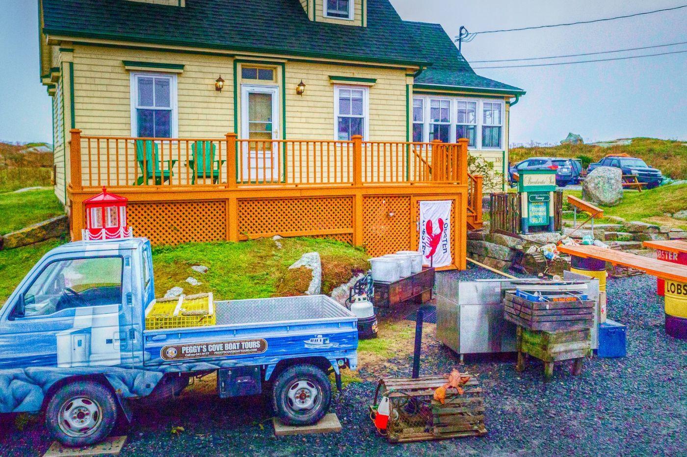 加拿大佩吉海湾(Peggys Cove),渔村生活_图1-15
