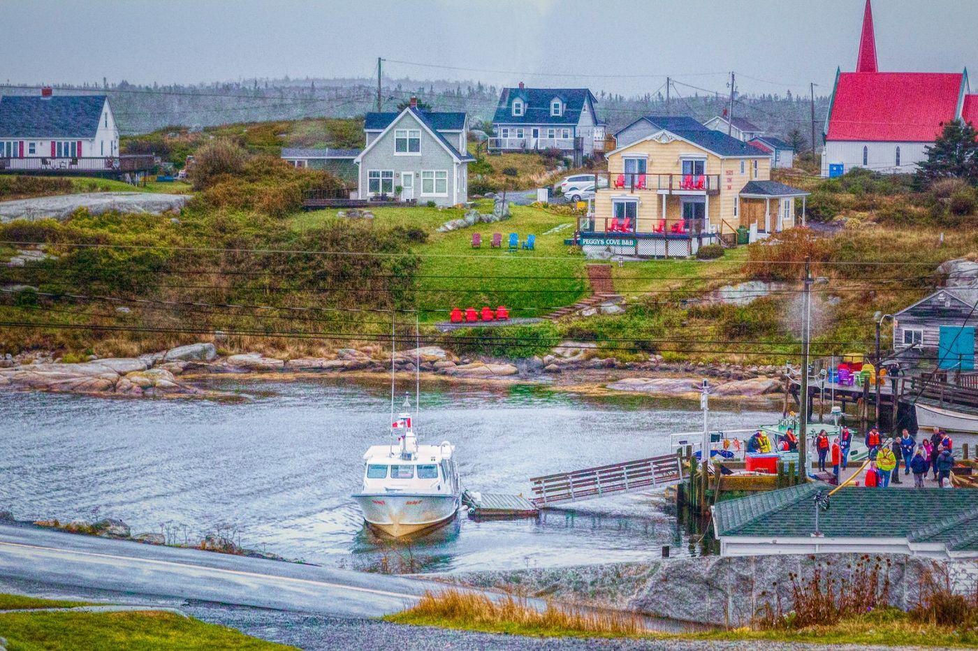 加拿大佩吉海湾(Peggys Cove),渔村生活_图1-13