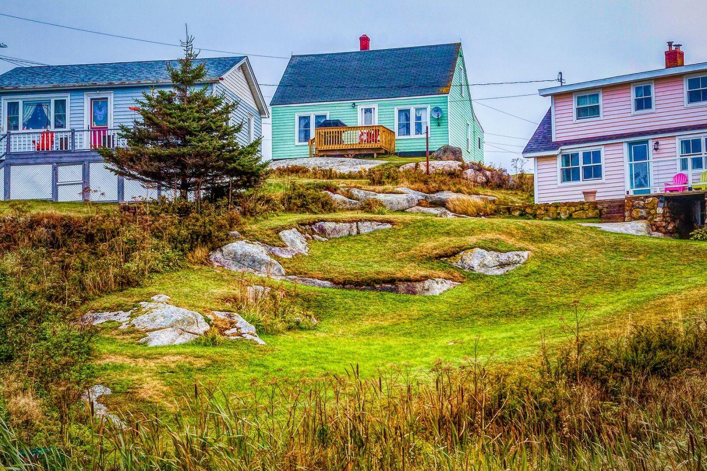 加拿大佩吉海湾(Peggys Cove),渔村生活_图1-10