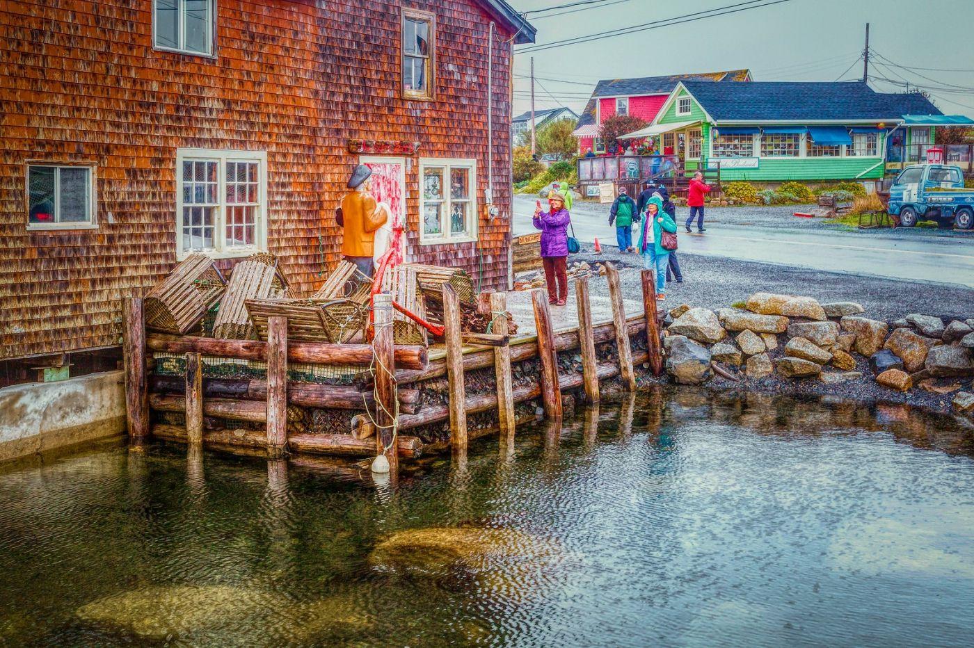 加拿大佩吉海湾(Peggys Cove),渔村生活_图1-12